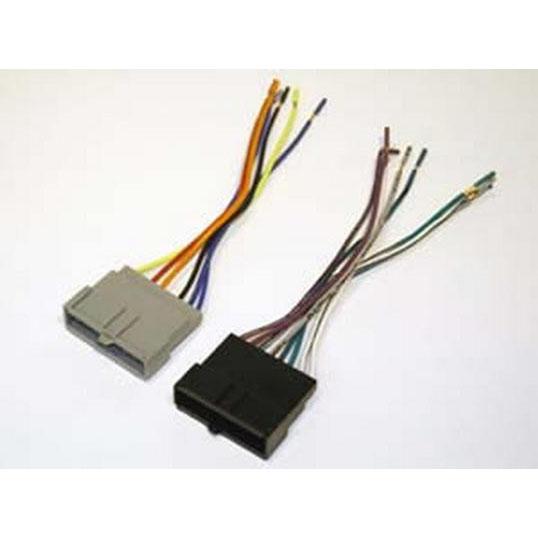 scosche 1986-97 ford power/speaker wire harness