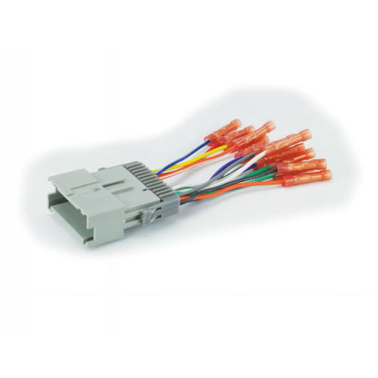 radio wiring, 1993 mustang scosche 2000-04 select chevrolet gm import  power/speaker wire     on
