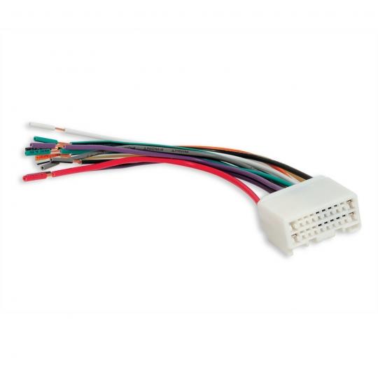scosche 2008 up mitsubishi power speaker wire harness reverse mi04rb rh classiccarstereos com Scosche Stereo Wiring Harness Automotive Wiring Harness