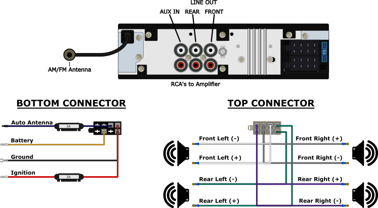 Kicker Hideaway Wiring Diagram on kicker subwoofer wiring diagram