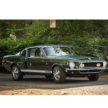 1964 Green Mustang